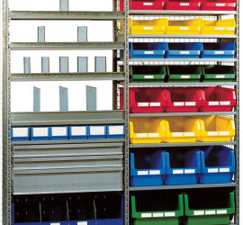 R3000 SHELVING ACCESSORIZED UNIT
